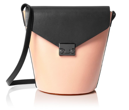 LOEFFLER RANDALL Flap Bucket Cross-Body Bag