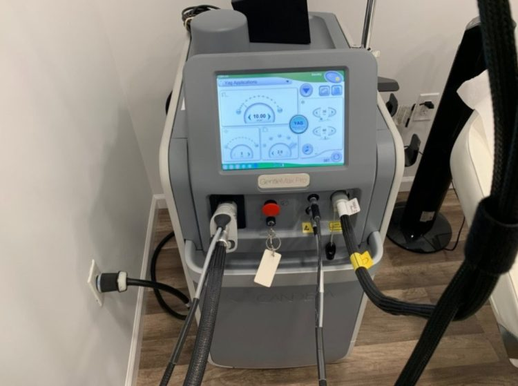 System for laser hair removal