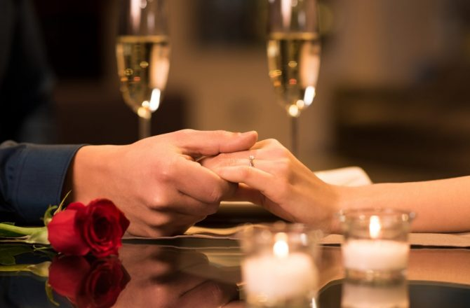 Four Diamond Worthy Places to Dine for Valentines Day