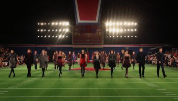 Tommy Hilfiger Re-Enacts Fall 2015 Fashion Show in Beijing