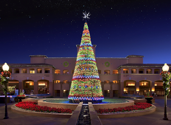 Be Enchanted In A Winter Wonderland At Fairmont Scottsdale