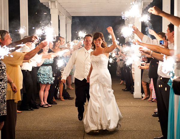 Wedding-Sparklers-with-fist-pump1