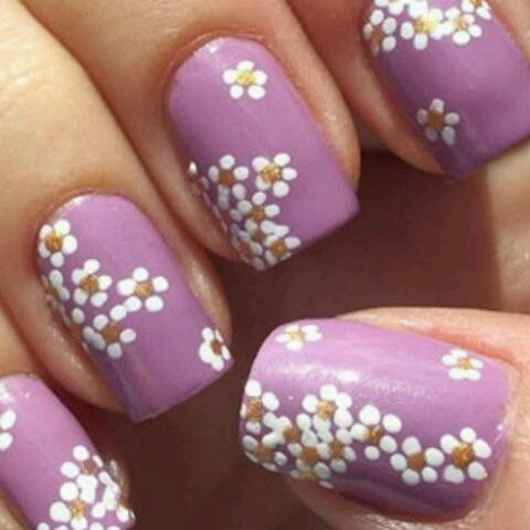 do it yourself flirty and fun easter nail art