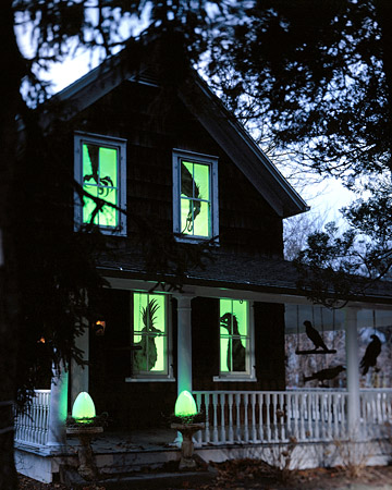 Do it yourself crafty outdoor halloween decorations - Decoration halloween fait maison ...