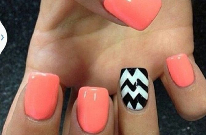 """Do It Yourself """"Odd Nail Out"""" Summer Nail Art"""