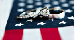 Wedding of the Week: American-themed