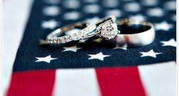 Wedding of the Week: American-themed