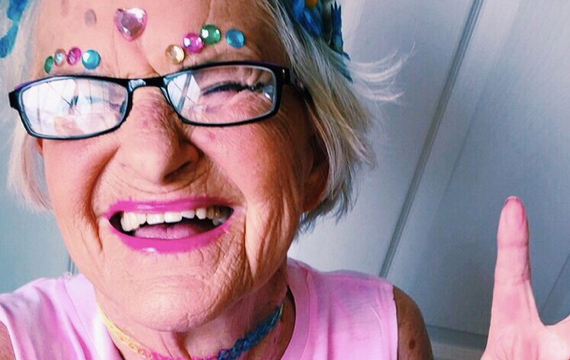 Hip 72-Year-Old Grandma Earns Millions Of Instagram Followers