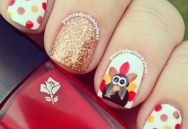 Do It Yourself Thanksgiving Nail Art