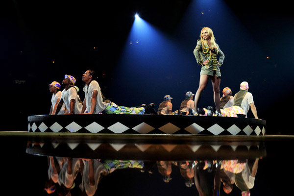 The Circus Starring Britney Spears Tour Hits Glendale