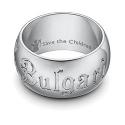 Bulgari Makes Special Jewelry Collection for Save the Children