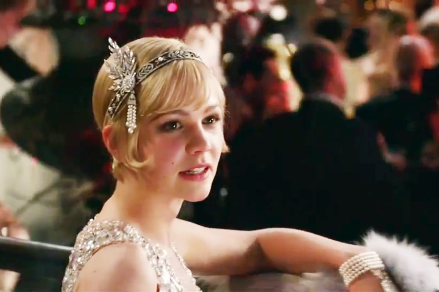 Actress Carey Mulligan, who plays Daisy Buchanan in The Great Gatsby ...
