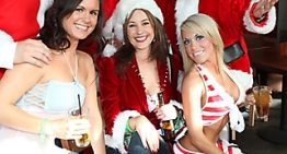Dress Up for the Annual Charity Santa Crawl