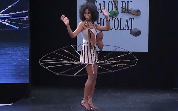 2015 Chocolate Fashion Show Brings Fashion And Sugar Together