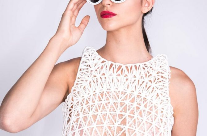 Danit Peleg Creates First 3-D Printer Fashion Line