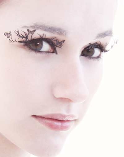 Bedeck Your Lashes with Paper Art