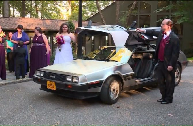 """Wedding Theme of The Week: """"Back to the Future"""""""