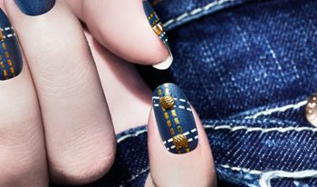 From Feathers to Denim: Fall's Hottest Nail Trends