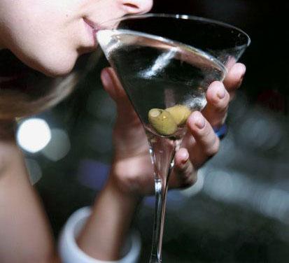 drinking-martini
