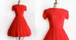 Adorable Vintage Holiday Dresses to Purchase this Season