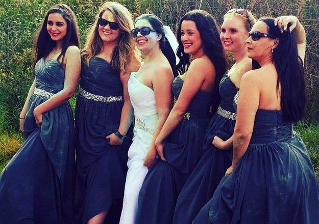 Woman Destroys Wedding Dress In Style When Fiancé Dumps Her