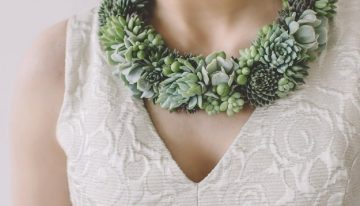 Newest Trend: Succulent Plant Jewelery