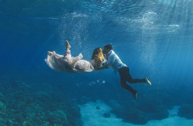 Underwater Couples Photographs Leave Viewers Speechless