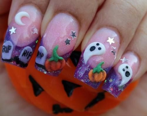 Do It Yourself Halloween Nail Art