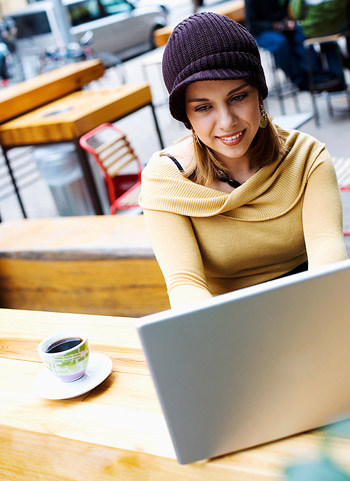 Valley Cafés with Free Wi-Fi