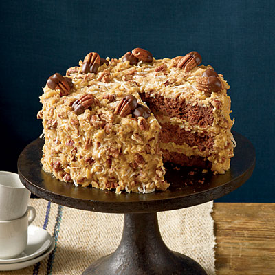 Chef Aj German Chocolate Cake Recipe