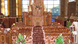 JW Marriott Desert Ridge Displays Largest Gingerbread Village