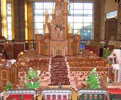 JW Marriott Desert Ridge Displays Largest Gingerbread Village