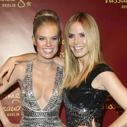 Heidi Klum's New Look-Alike Wax Figure