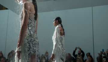 Water Soluble Fashion Disappears Clothes Before Your Eyes