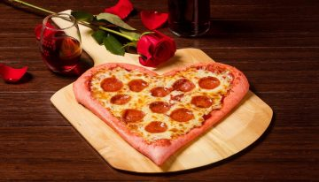 Show Bae They've Got a Pizza Your Heart this Valentine's Day