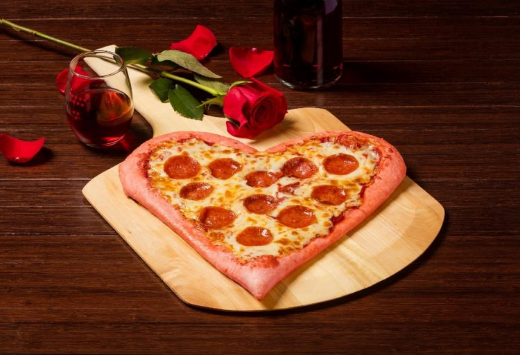 ... Or Celebrating Singles Awareness Day On February 14 One Thing Everyone  Loves Is Pizza. Get Romantic On Some Cheesy, Carby Goodness This Valentines  Day ...