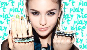 DIY: Celeb stylist Melody Ehsani's nail designs