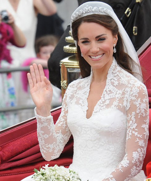 Wedding Hairstyle Kate Middleton : Kate middletons diet for her royal wedding