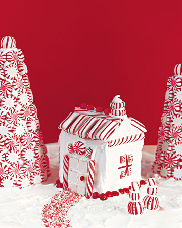 Hot To Make A Stylish Gingerbread House