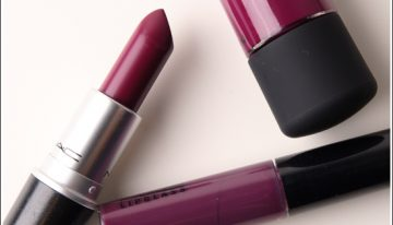 Spring beauty trend: A dark lip