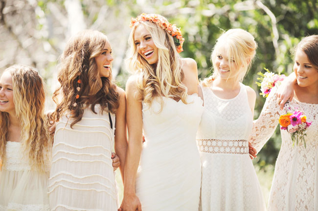 The Bohemian Wedding Trend