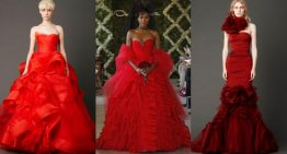 Trend Spot: Red wedding dresses