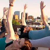 Half Off Rooftop Yoga!