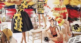 Moschino Washes Away Winter With Spring Campaign
