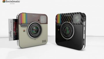 Socialmatic Polaroid Camera Prints Instagram-style Pictures