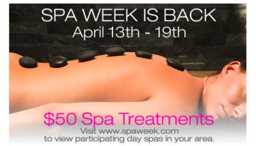 Spa Week is Back