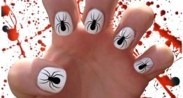 Easy DIY Halloween Nail Ideas