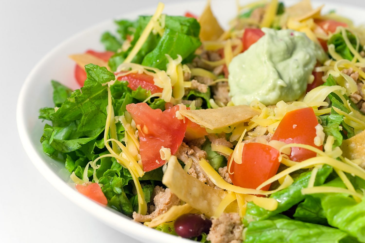 taco-salad-spicy-avocado-dressing