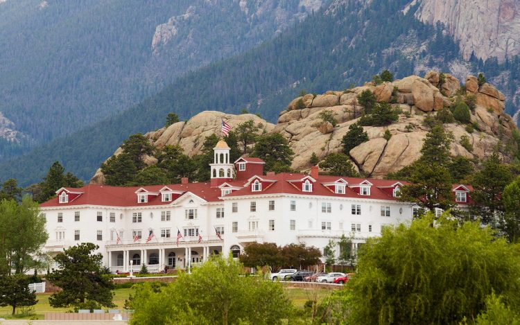 Estes Park, Colorado - The Stanley Hotel.