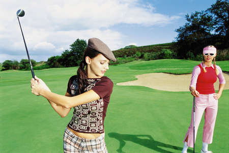 Women's Designer Golf Clothing Golfing girls your